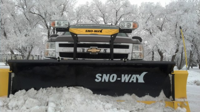 Sno-Way Plow