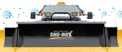 Sno-Way Snow Plow